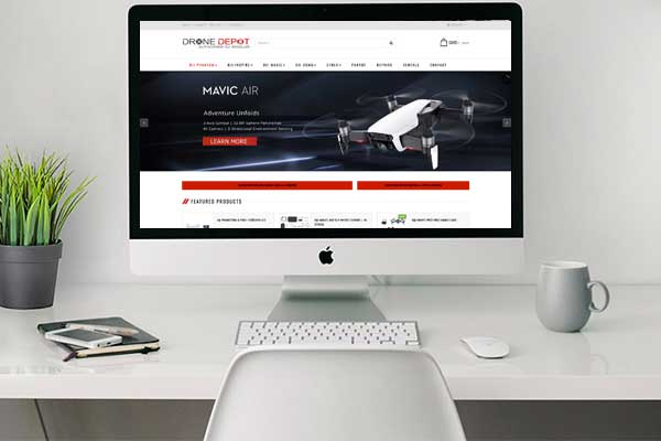 Drone Depot Ecommerce Design